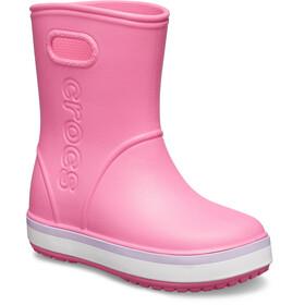 Crocs Crocband Bottes de pluie Enfant, pink lemonade/lavender